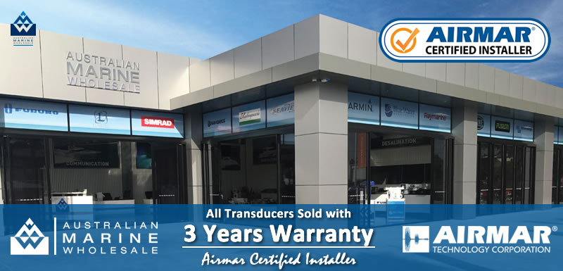 Airmar Certified Installers 3 Years Warranty on Transducers Sold