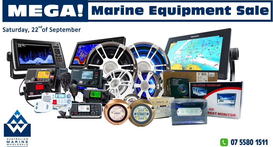 Mega! Marine Equipment Sale September